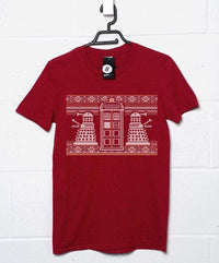 Knitted Jumper Style T Shirt - Dr Who