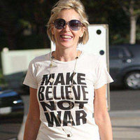 As Worn By Sharon Stone - Make Believe Womens T Shirt - 8Ball
