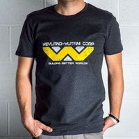 Mens 8Ball Black Tag Premium T Shirt - Weyland Yutani