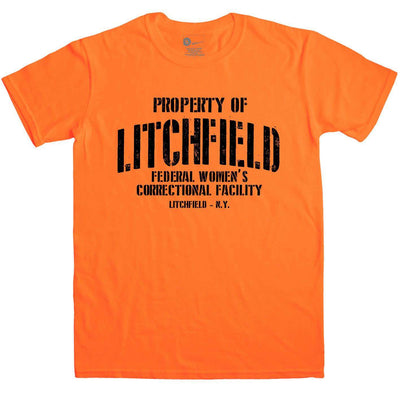 Inspired By Orange Is The New Black - Litchfield Prison Mens T Shirt