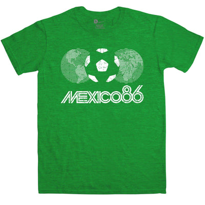 Football Couture Mens T Shirt - Mexico 86