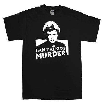 Murder She Wrote T Shirt - Deadly Lady