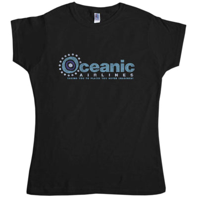 Inspired By Lost T Shirt - Oceanic Airlines Womens