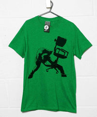 Banksy T Shirt - Office Chair Clash