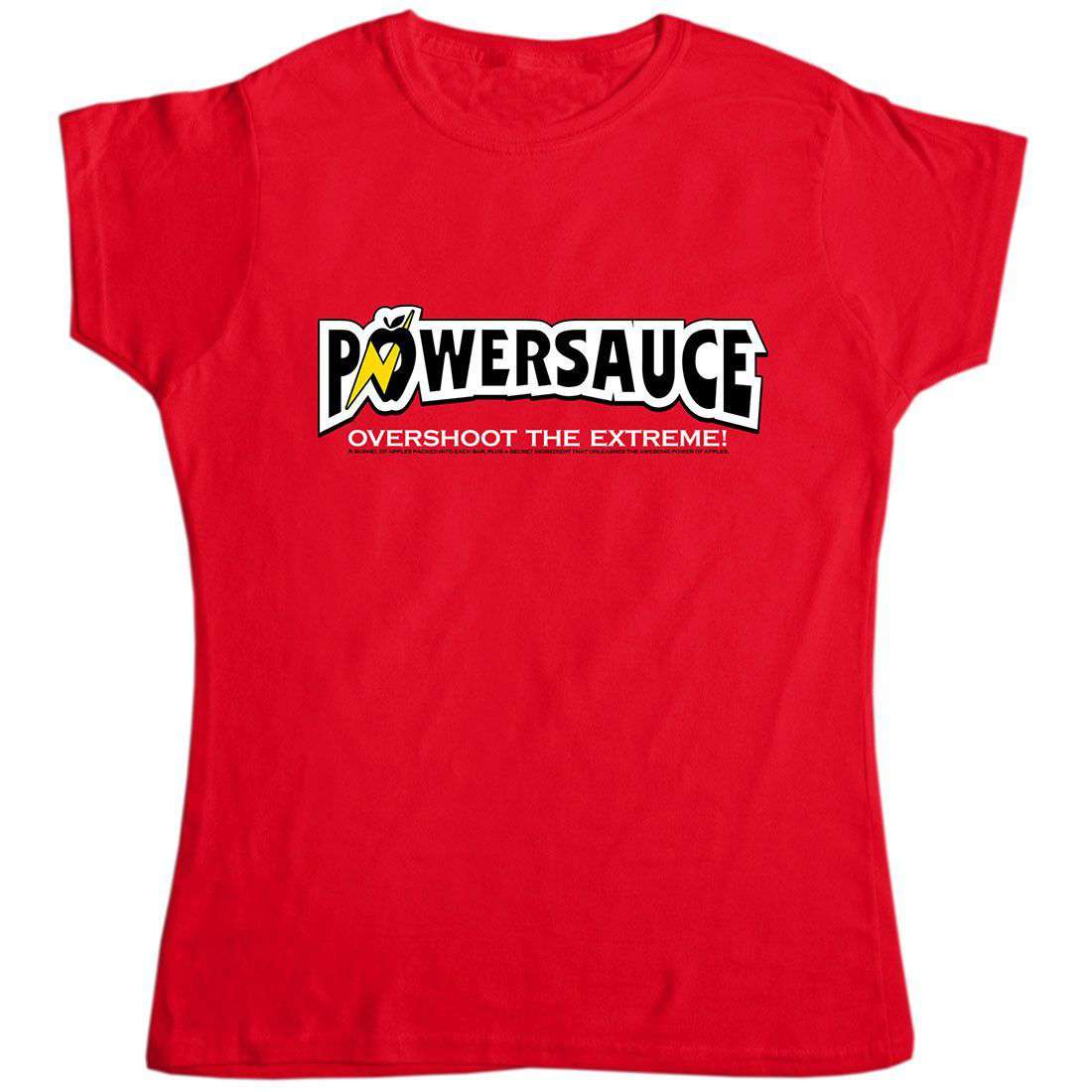 Power Sauce - Inspired by The Simpsons Womens T Shirt