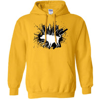 Banksy Hoody - Shaking Dog - 8Ball