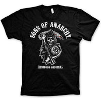 Sons Of Anarchy Kutte Logo - Redwood OG T Shirt
