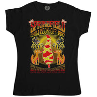 Springfield Chili Cook Off - Inspired by The Simpsons Womens T Shirt