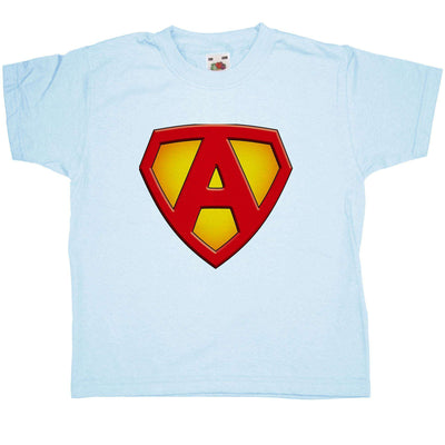 Super Hero Kids T Shirt - A