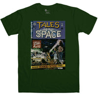 Inspired By Back To The Future Mens T Shirt - Tales From Space Comic Book