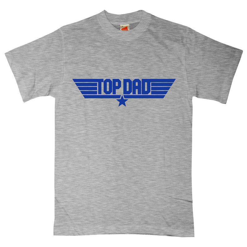 Top Dad Top Gun Logo T-shirt for Men