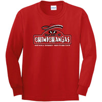 Wades Chimichangas - Deadpool Inspired Longsleeve T Shirt