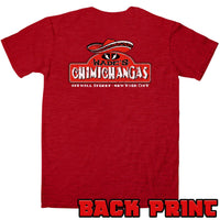 Wades Chimichangas T Shirt with Back Print