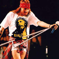 As Worn By Axl Rose T Shirt - Kill Your Idols - 8Ball
