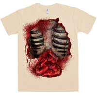 Zombie Open Chest T Shirt