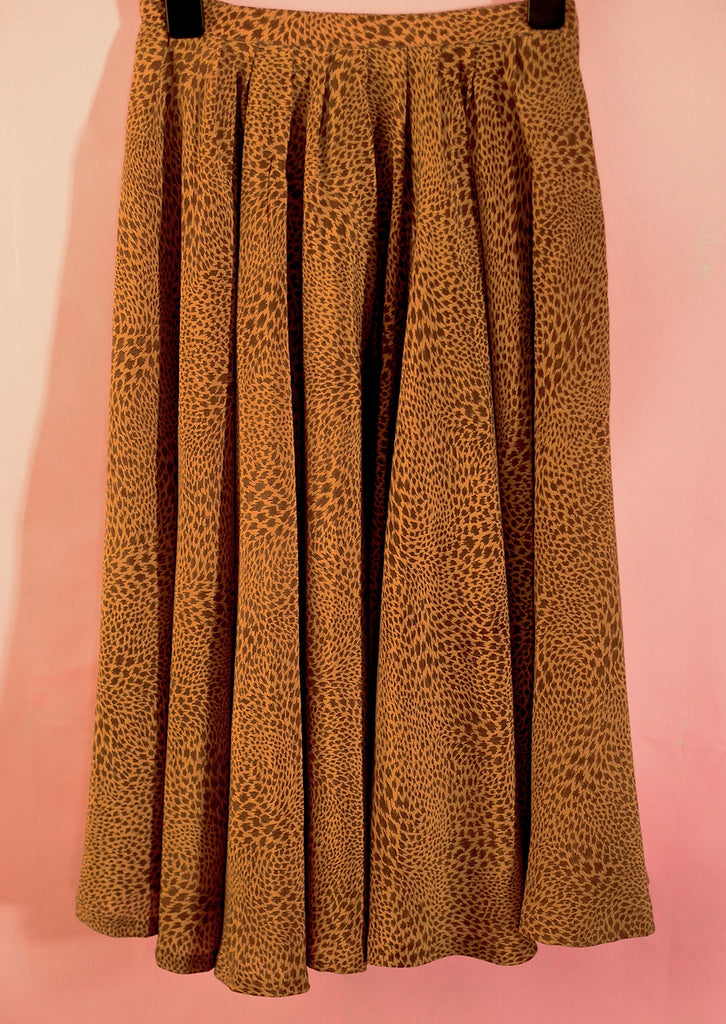 Vintage Balenciaga silk skirt UK 6