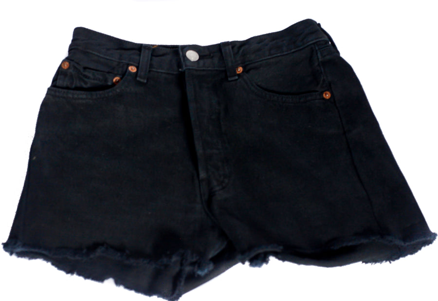 Vintage black Levi's Denim shorts