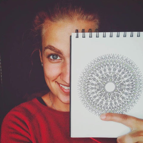 Irmelin and her mandala