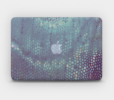 Transparent MacBook Skin - Space Snake