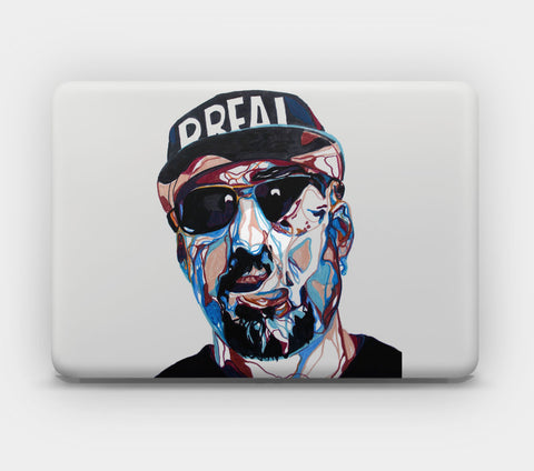 Transparent MacBook Skin - B Real
