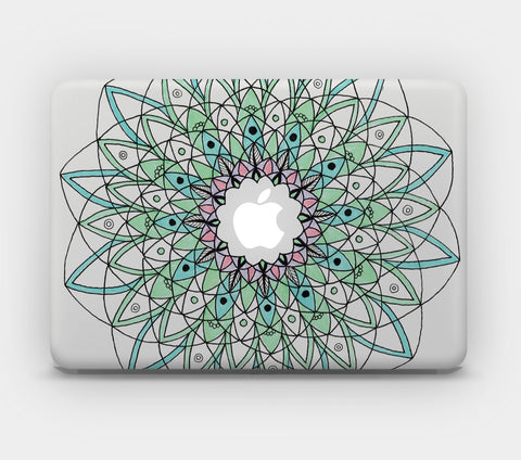 Transparent MacBook Skin - Mandala 21