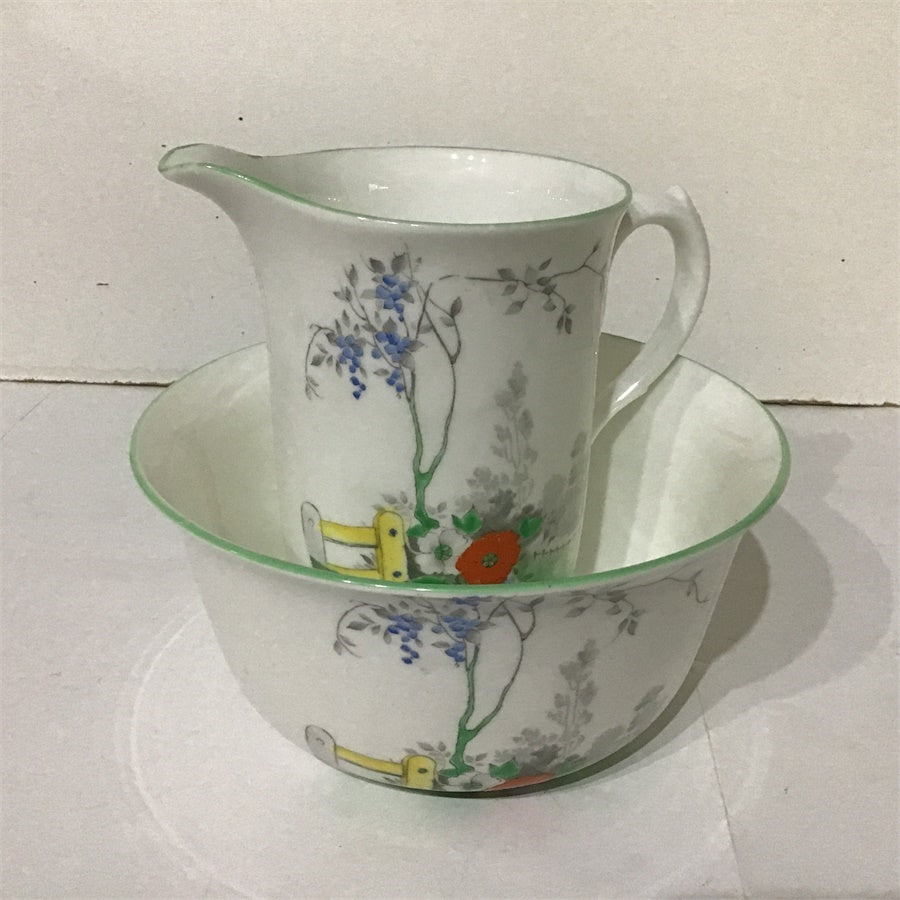 Vintage Shelley, D2116,Stile & Roses, Sugar Bowl