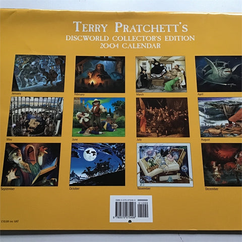 Terry Pratchett Discworld Ltd Edition Print, New