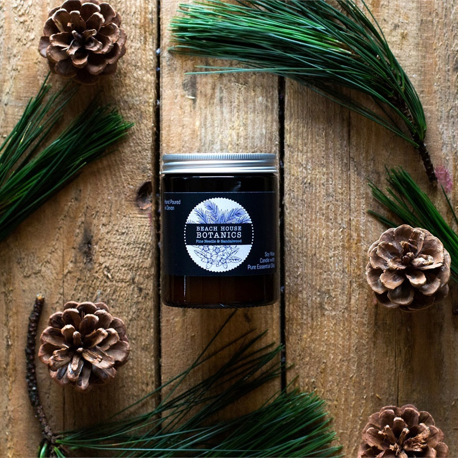 Pine Needle & Sandalwood Medium Jar Candle (180ml)