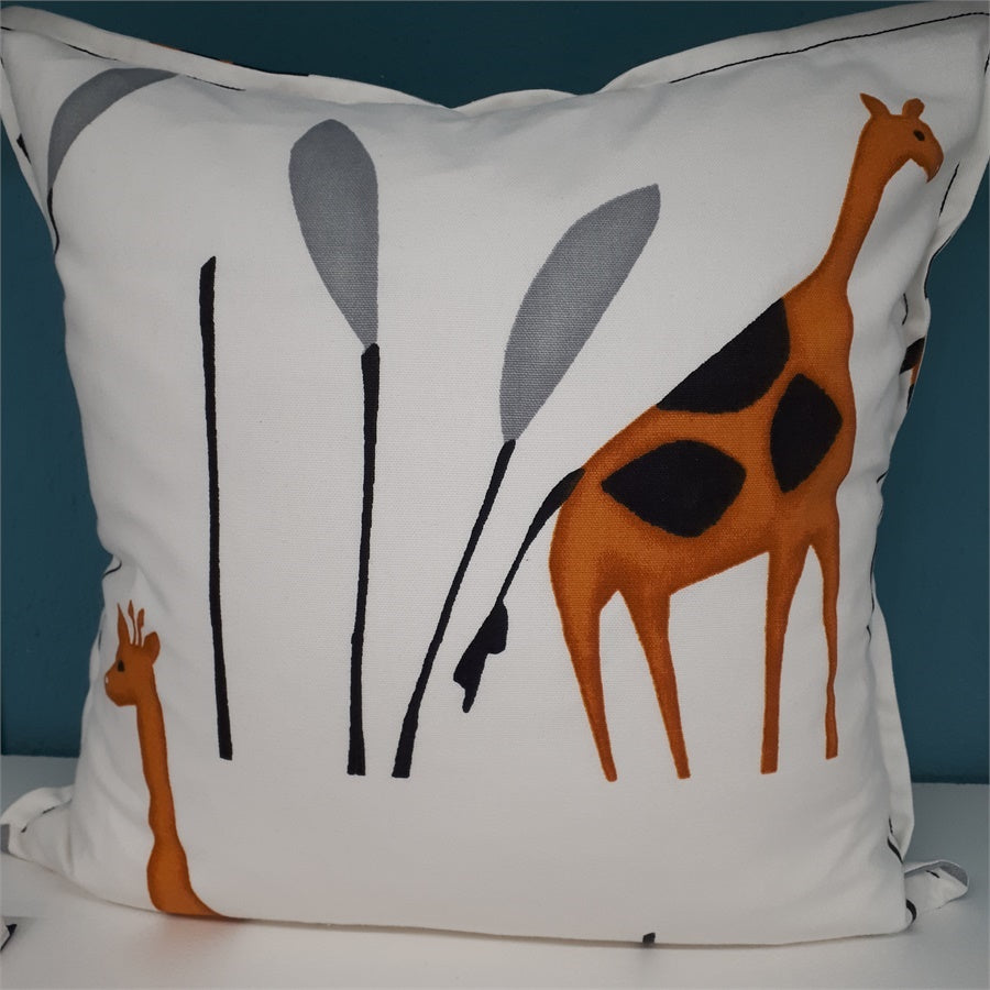 Square Giraffe Cushion