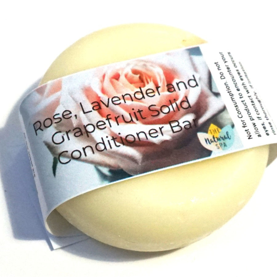 Rose Lavender Grapefruit Conditioner Bar