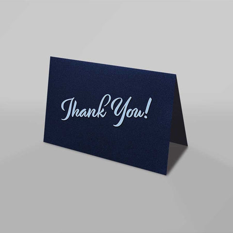Thank You Card (Kings Blue)