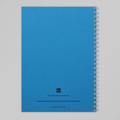 Blue Balloon A5 Notebook (Tabriz Blue)