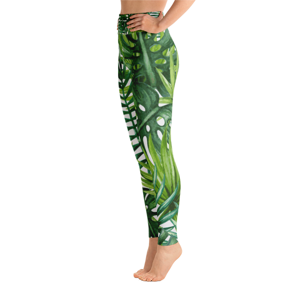 Special Edition* tropical vibin' - full length yoga leggings