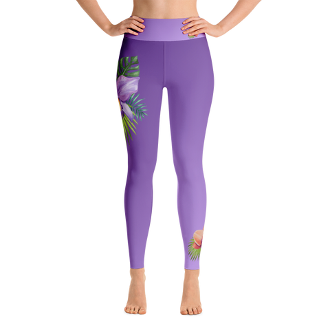 Special Edition 'lush orchid' - full length yoga leggings