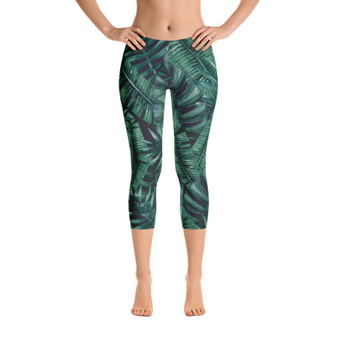 night fern - capri leggings
