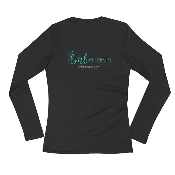 LMB long sleeve women's tee - black