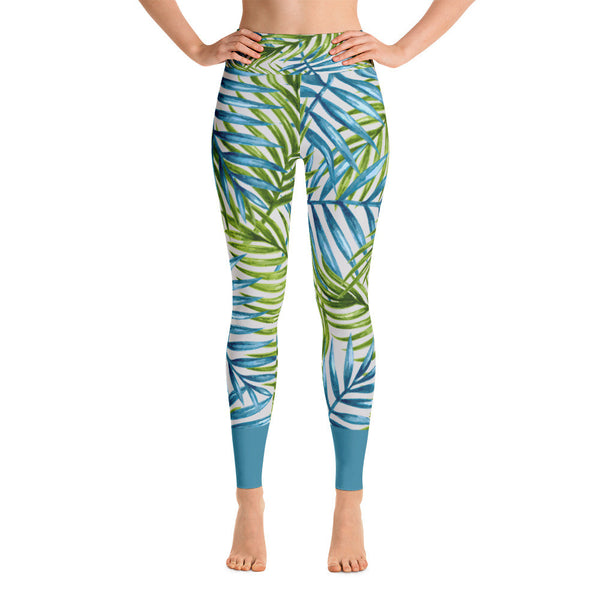 sweet fern - full length yoga leggings