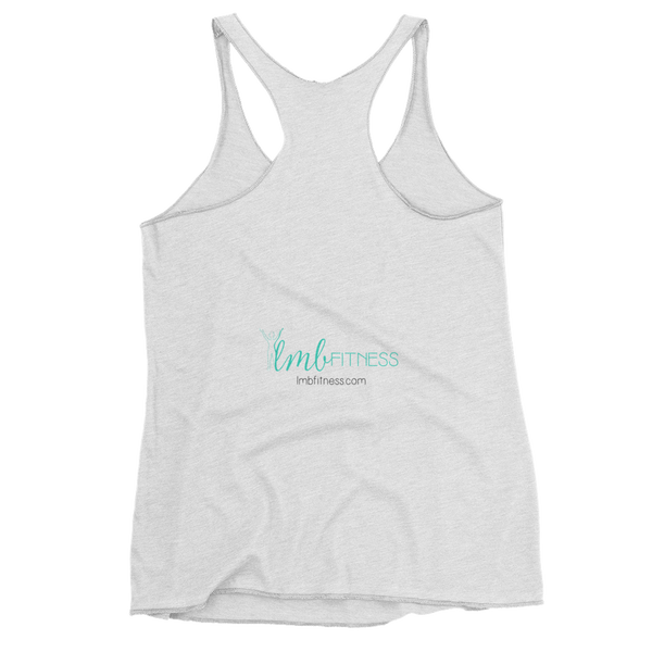 live move be light-weight tank in white (women's)