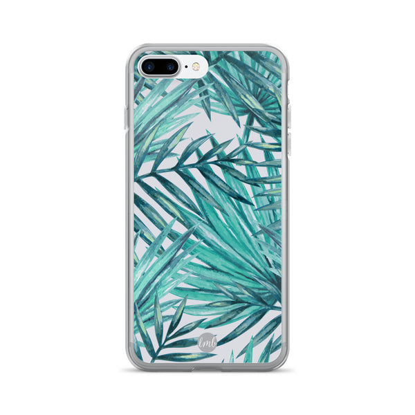 iPhone 7/7 Plus Case - aqua fern