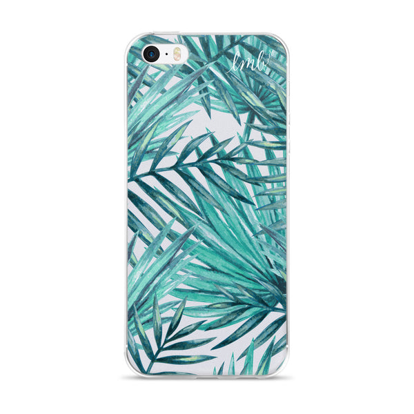 iPhone 5/5s/Se, 6/6s, 6/6s Plus Case - aqua fern