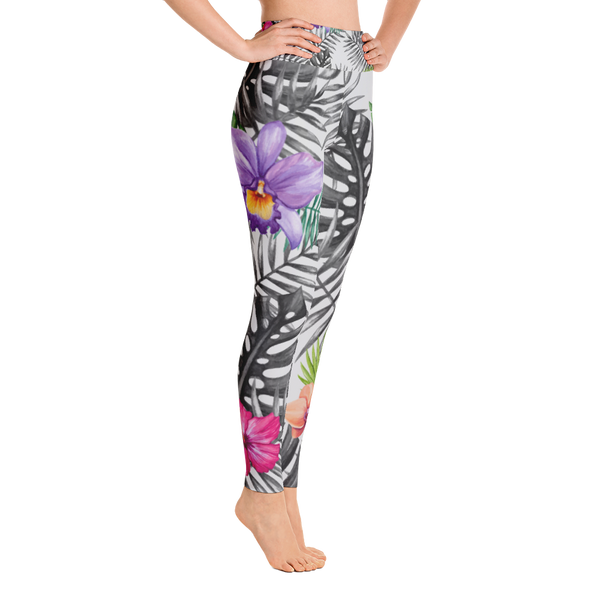 colour burst - full length yoga leggings