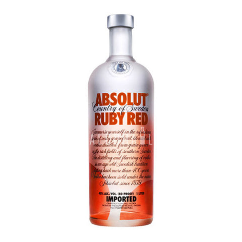 Absolut Vodka Ruby Red 750ml