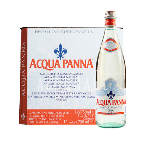 Acqua Panna Still Mineral Water - Case 12 x 750ml