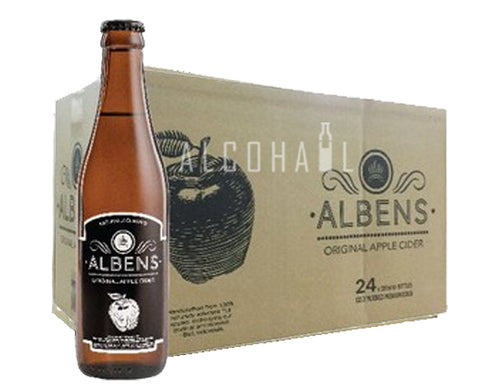Albens Original Apple Cider - Case 24 x 330ml