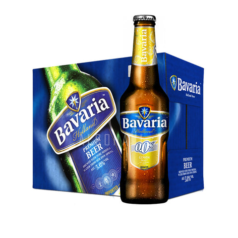 Bavaria Radler Lemon Beer - Case 24 x 330ml