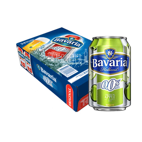 Bavaria Non-Alcoholic Beer Apple - Case 24 x 330ml