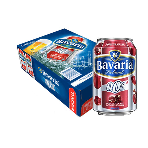 Bavaria Non-Alcoholic Beer Pomegranate - Case 24 x 330ml