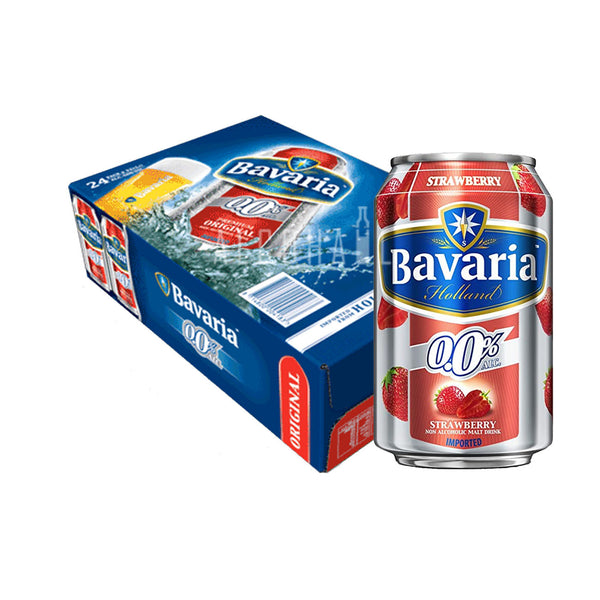 Bavaria Non-Alcoholic Beer Strawberry - Case 24 x 330ml