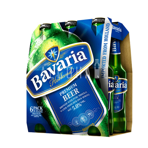 Bavaria Premium Beer Pint - Pack 6 x 330ml