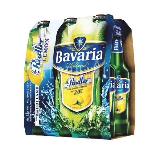 Bavaria Radler Lemon Beer - Pack 6 x 330ml